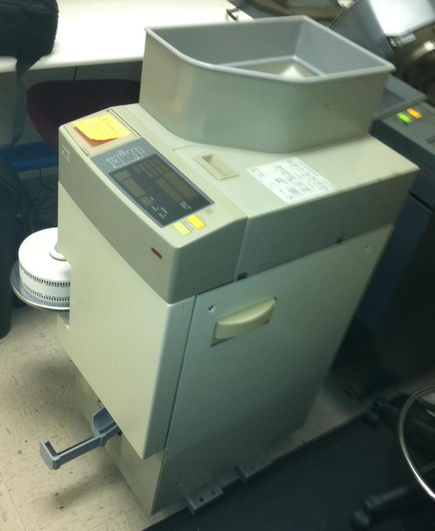 coin wrapper machine